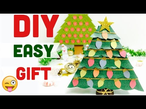 DIY CHRISTMAS CRAFTS \How to make a Christmas tree Decoration /gift