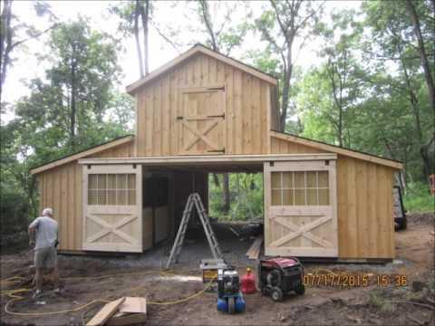 Monitor Barn Build