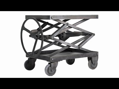 Industrial Scissor Lift Table (The work of the lifting mechanism)