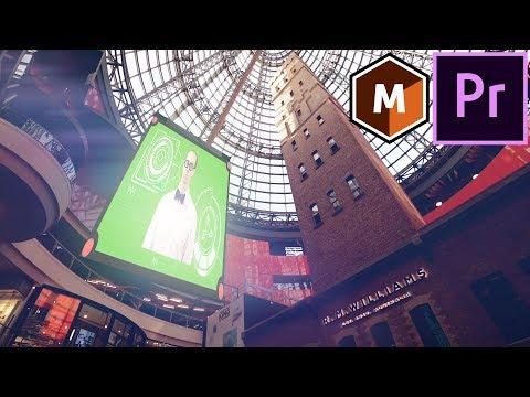 Mocha Lens: CORRECT DISTORTION & INSERT SCREEN in Premiere Pro Tutorial