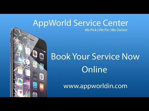 Apple iPhone | MacBook | iPad Service & Repair @AppWorld | Book Now Online in India