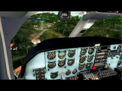 Winair BN2B Islander|St Barths Arrival|Rwy 10|Realistic FSX