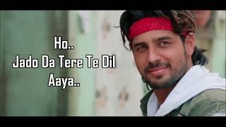 Kinna Sona (Lyrics) | Marjaavaan | Jubin Nautiyal | Dhvani B | Sidharth Malhotra, Tara Sutaria |