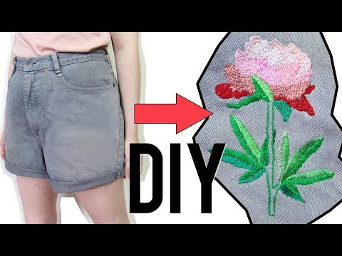 DIY Embroidered Shorts x SHMOXD Collab Challenge!