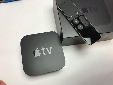 Apple TV 32GB gen 4 unboxing