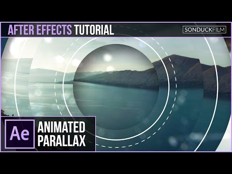 After Effects Tutorial: Geometric Photo Parallax Animation