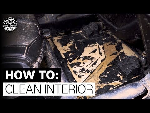 Cleaning Gritty & Messy Interior On Can-Am! - Chemical Guys