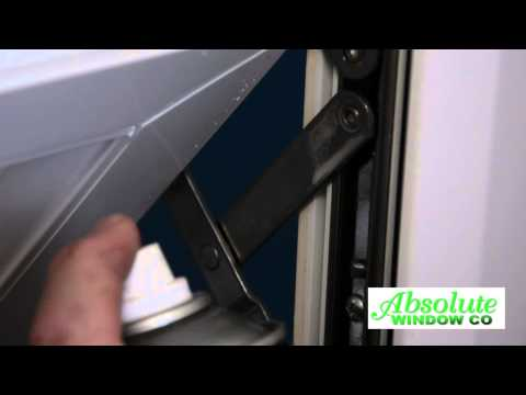 General Maintenance Of A uPVC Window