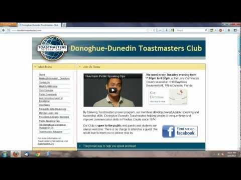 Toastmasters Online Meeting Agenda