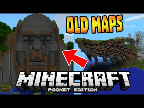 OLDEST MAPS in MCPE!!! - Temple Of Notch & MORE - Minecraft PE (Pocket Edition)