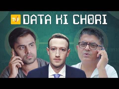TVF's Tech Conversations With Dad || Data Ki Chori
