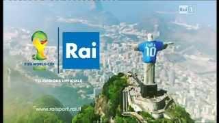 """Raiuno - Promo """"Mondiale: il Brasile ci aspetta"""" - Maggio 2014"""