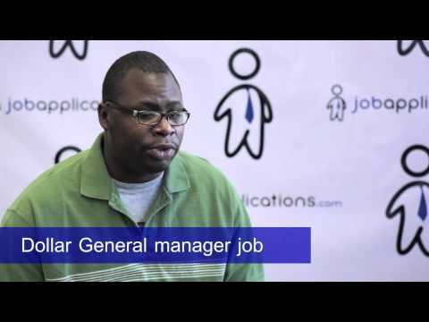 Dollar General Interview - Manager