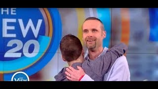 Bone Marrow Recipient Meets Donor Who Saved His Life | The View