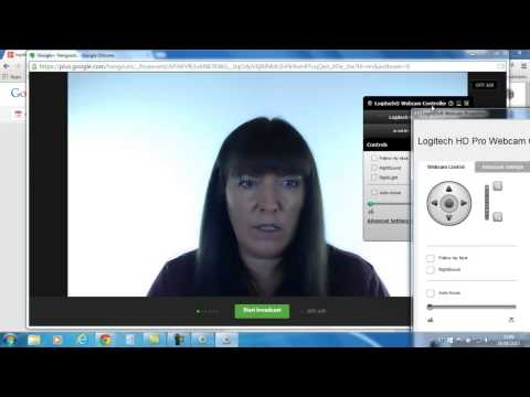How To Use The Logitech C920 Webcam - Settings