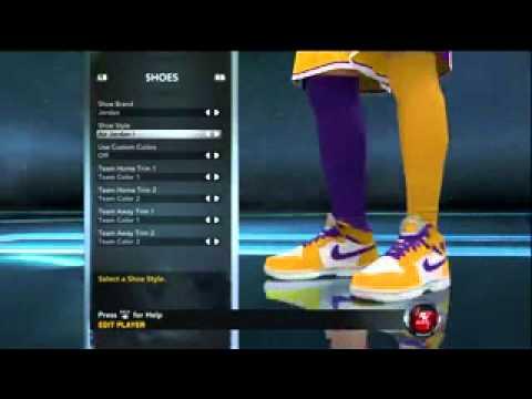 NBA 2K12 Air Jordan Retro 1