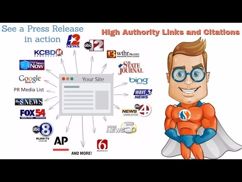 How to get powerful Backlinks and Citations - Press Release Example