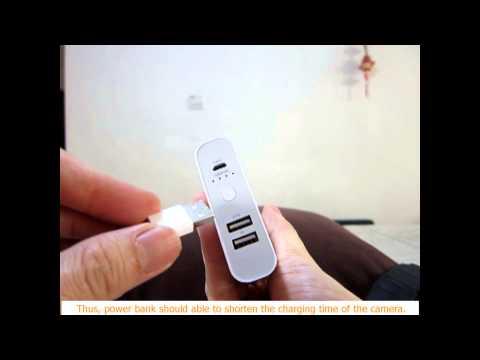 SonyA6000/ A5100 -  Shorten the camera battery charging time using power bank