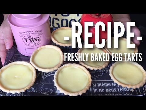 Easy Recipe: Egg Tart in Butter Pastry