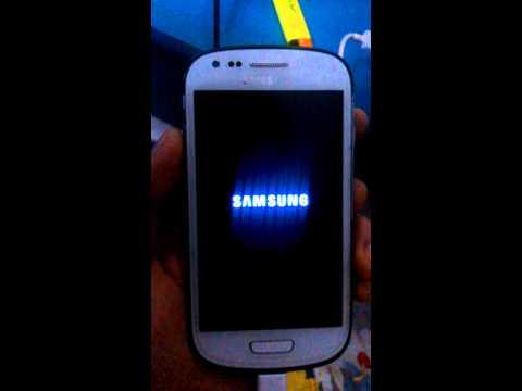 Samsung Galaxy S3 mini GT-I8190N pattern lock by pass