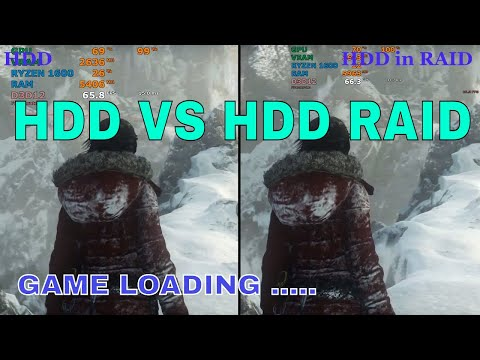 HDD RAID (0) vs HDD | is it worth ? | Real-time benchmarks