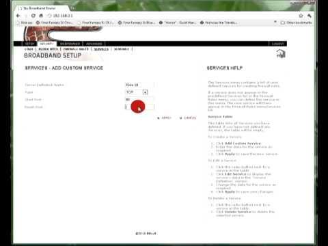 Portforwarding a SKY router for Xbox