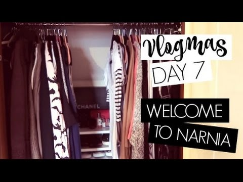 VLOGMAS DAY 7 / Welcome To Narnia