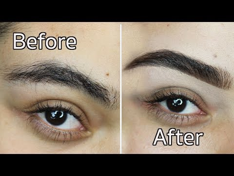 DIY: How I Groom and Fill in Thick Eyebrows all Anastasia Products |Lilybetzabe