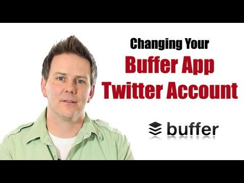 How To Change Your Twitter Account in the Buffer App