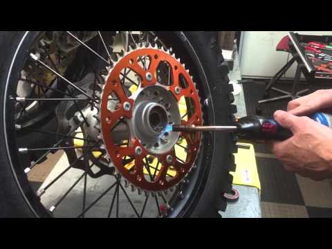 How to Change Motorcycle Wheel Bearings & Seals