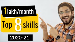Top 8 skills of 2020 | Earn 1lakh/month | Anyone can learn | Work from Home :)