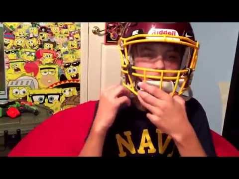 How to put a visor on a riddell speed flex