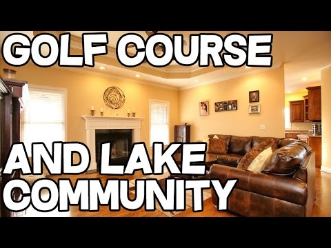Golf Course home Herrington Lake house for sale Danville Kentucky