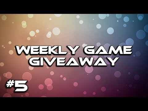 Game Giveaway Week 5 (CLOSED) + Week 4 Winner