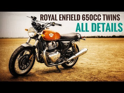 Royal Enfield Interceptor 650 and Continental GT 650 Details - ICN Studio