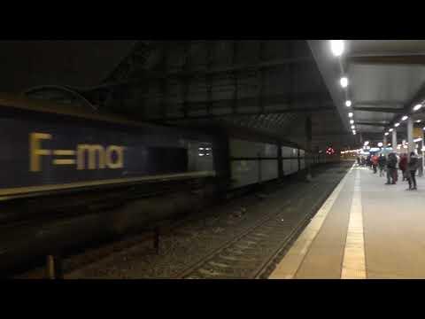 (HD) Heavy Haul Power International Class 66,  29005 'Ted Gaffney' Passes Bremen Hbf - 8/11/17