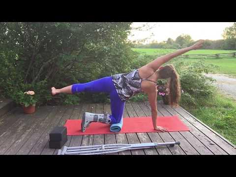 Yoga for a Broken Leg/Ankle/Foot- 50 Minute Intermediate Practice