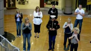 Download US Marine Comes Home From Afghanistan, Surprises Dad Video