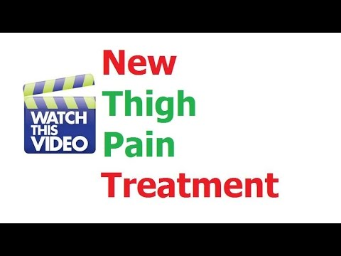 How To Treat Thigh Pain Without Drugs