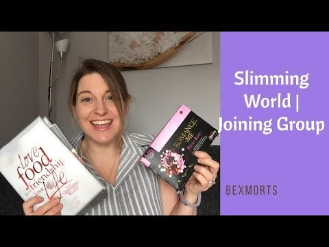 SLIMMING WORLD   JOINING GROUP AND FIRST WEIGH IN