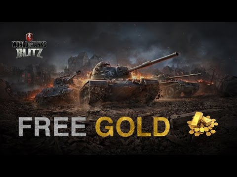Free gold in Wot Blitz - How to get?!
