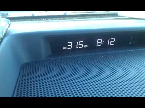 Toyota Tundra 44.4 MPG 5.7 Liter