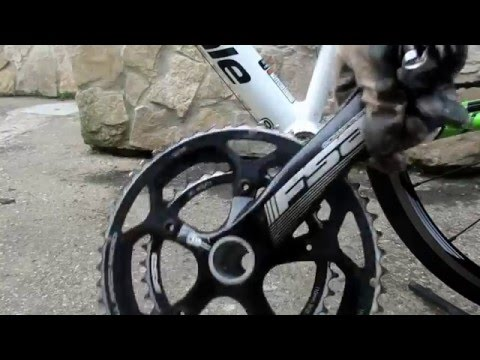 HOW TO: Remove FSA Crankset