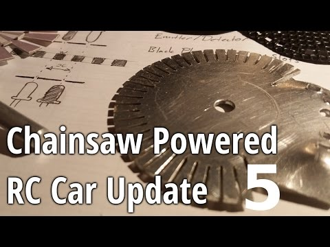 Chainsaw Powered RC Car Update 5 - Steering Sensor