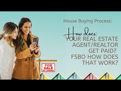 House Buying Process | How does your Real Estate Agent/Realtor get paid? FSBO how does that work?