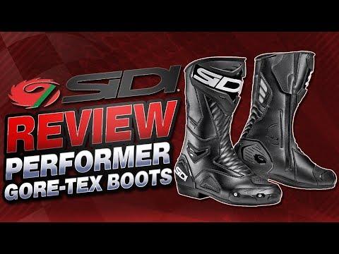 Sidi Performer Gore-Tex Waterproof Boot Review | Sportbike Track Gear