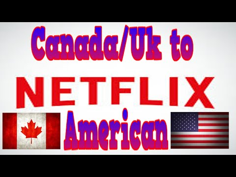 How to change Canadian/Uk Netflix to American Netflix- [Ps3]