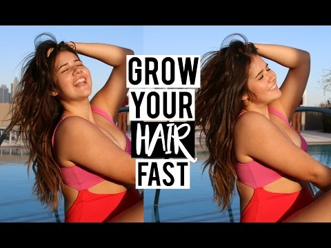 How To Grow Your Hair Long & Thick FAST   My Hair Care Routine