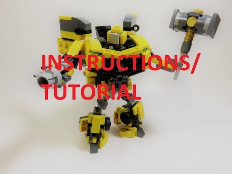 (TUTORIAL/INSTRUCTIONS) Lego Transformers 5 The Last Knight- Bumblebee