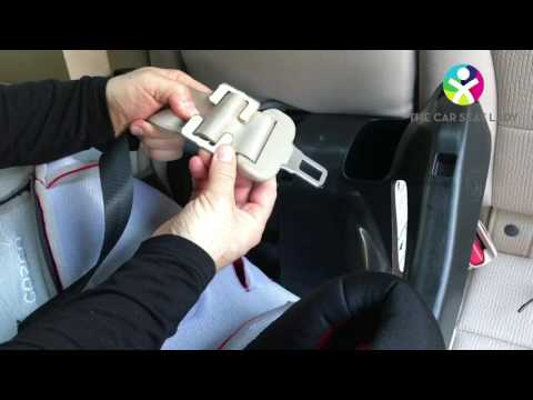 How to use a locking clip to install a car seat - The Car Seat Lady